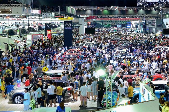 Motor Expo 2016 เนื้อหอมค่ายรถแห่จองพื้นที่