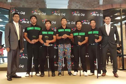 Art of Golf International เปิดตัวแบรนด์แอมบาสเดอร์