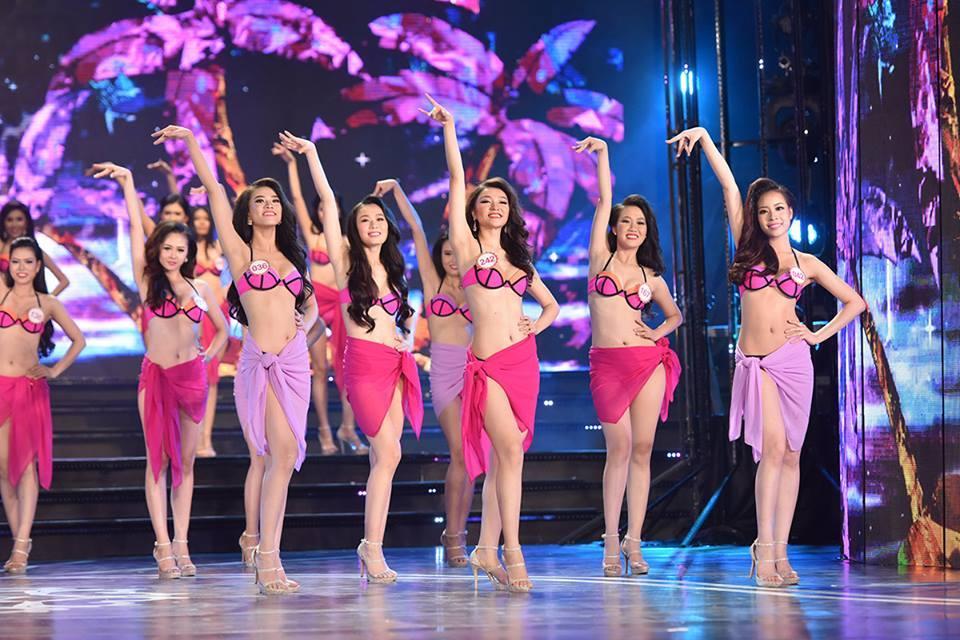 เปิดหูเปิดตา ค้าว..ขาว 18 สาวใต้ในชุดว่ายน้ำ Miss Vietnam 2016 คึกคักเครื่องติด