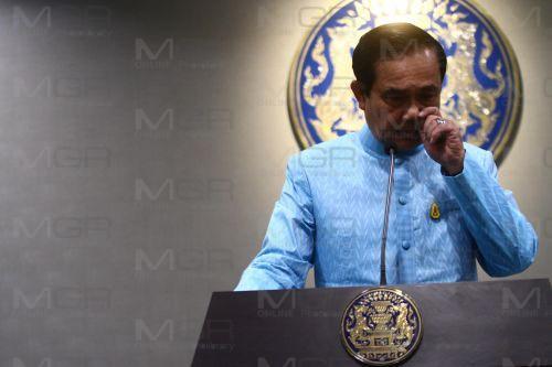 พล.อ.ประยุทธ์ จันทร์โอชา นายกรัฐมนตรี และหัวหน้าคณะรักษาความสงบแห่งชาติ(แฟ้มภาพ)