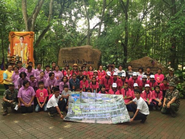 วายดับบลิวซีเอ พัทยา จัดค่ายเยาวชนอาสารักษ์ป่า ปลูกป่าในใจคน รุ่นที่ 1