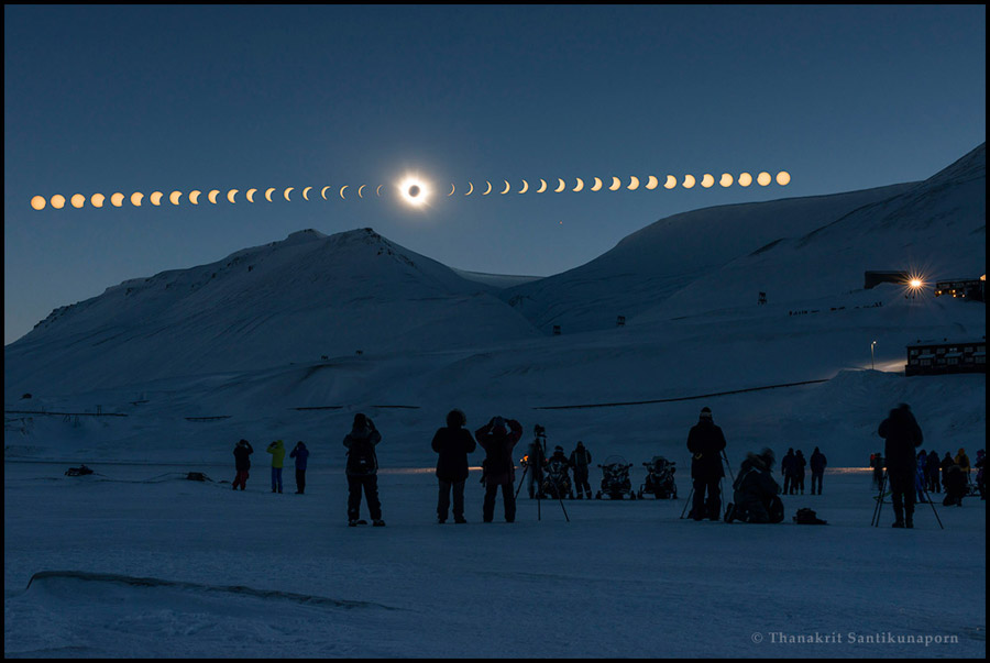 """""""Total Solar Eclipse from Svalbard"""""""
