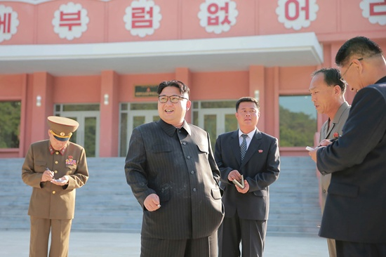 Bingeing Kim Jong-Un piling on the pounds: Seoul's spies