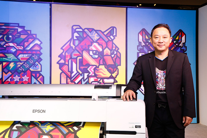 """""""เอปสัน"""" เพิ่มไลน์เครื่องพิมพ์หน้ากว้างจับกลุ่มศิลปินภาพ"""
