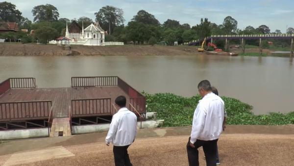 """ชลประทานยัน """"แม่น้ำสะแกกรัง"""" ไม่น่าห่วง-น้ำเพิ่ม แต่ยังห่วงวิกฤตน้ำท่วม"""