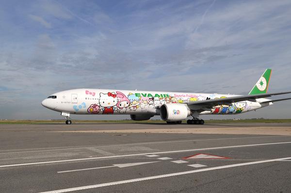 """EVA เพิ่มเที่ยวบิน """"ไทเป-ปารีส"""" เป็นวันละหนึ่งเที่ยวบิน พร้อมไฟลท์ Hello Kitty ในวันพุธ-ศุกร์-อาทิตย์"""