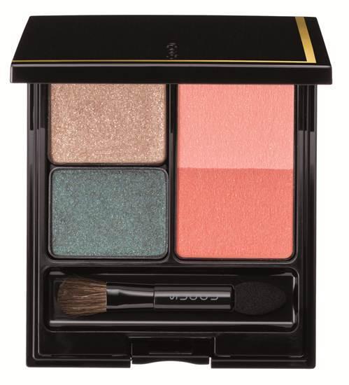 Eye & Cheek Color Compact สี EX-02 ราคาสอบถามได้ที่เคาน์เตอร์ จาก Suqqu