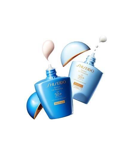 Perfect UV Protector S SPF50+ PA++++ (For Sensitive Skin & Children)  ขนาด 50 มล. ราคา 1,500 บาท จาก Shiseido