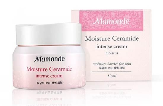 Moisture Ceramide Intense Cream ขนาด 50 มล. ราคา 1,200 บาท จาก Mamonde