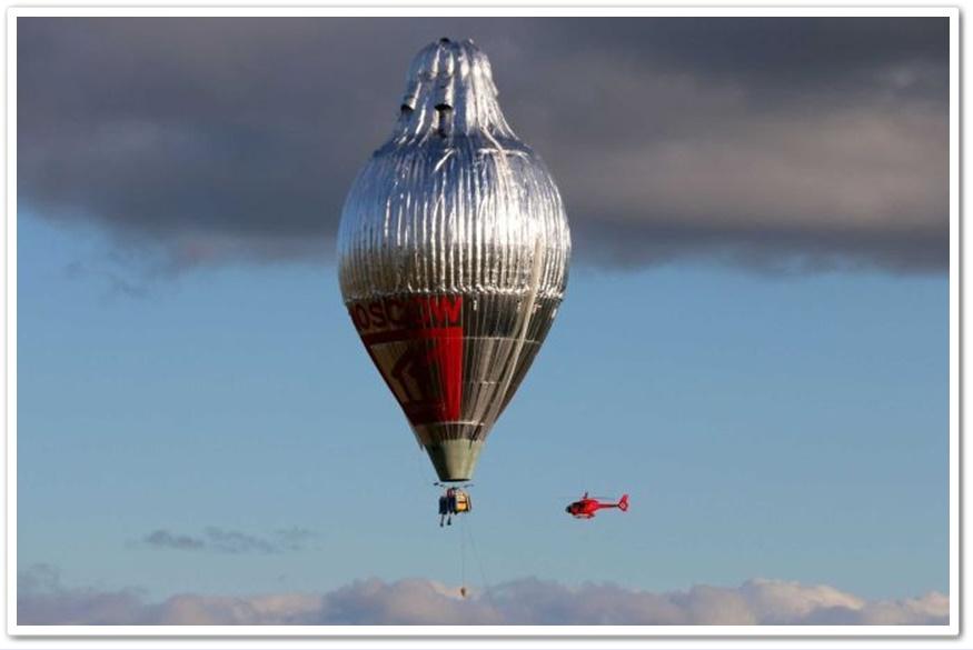 In Clips & Pics:บาทหลวงรัสเซียออร์โธด็อกซ์วัย 65  สร้างสถิติ เดินทางด้วยบอลลูนร้อนสูง 56 ม.รอบโลกภายใน 11 วัน
