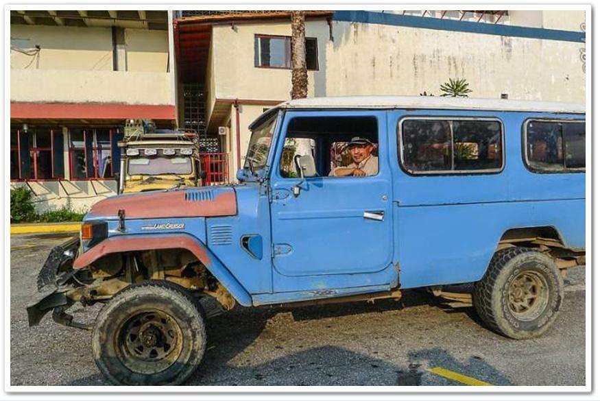 ภาพรถ BJ45 ยอดนิยมในเวเนซุเอลา