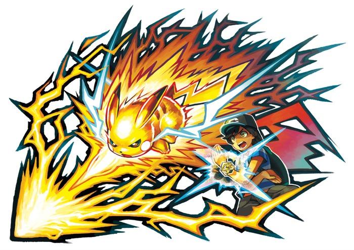 """ไปกันใหญ่! """"Pokemon Sun and Moon"""" จ่อคลอดกำไลพิเศษส่องแสงยามปล่อยท่า"""