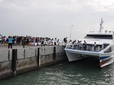 """""""เจ้าท่า"""" เตรียมประกาศเดินเรือเฟอร์รีผู้โดยสารเชื่อมอ่าวไทย """"หัวหิน-พัทยา"""""""