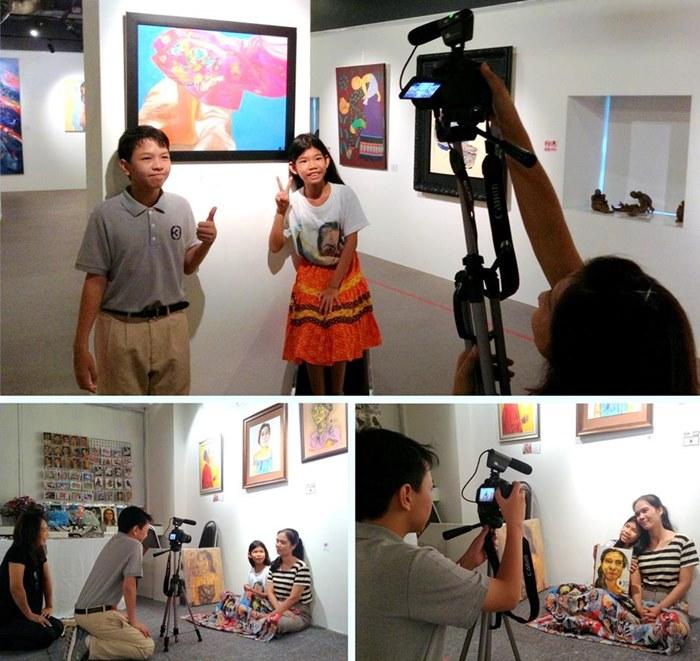 น้องจีน นักข่าวเด็กจาก รายการสุขสโมสร ส่วนหนึ่งของสื่อหลายๆสื่อที่ให้ความสนใจมาถ่ายทำรายการ