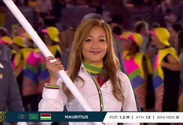 ถือธงเข้าพิธีเปิดโอลิมปิกด้วย