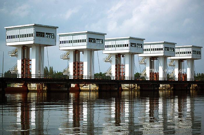 โครงการประตูระบายน้ำอุทกวิภาชประสิทธิ ปากพนัง