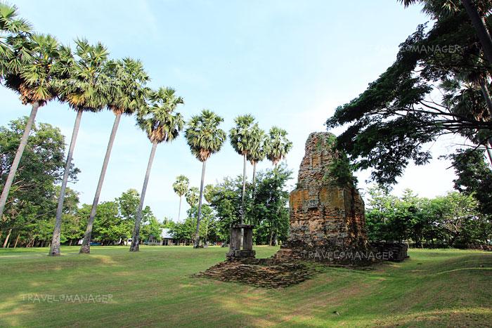ปราสาทภูมิโปน ปราสาทขอมที่เก่าแก่ที่สุดในไทย