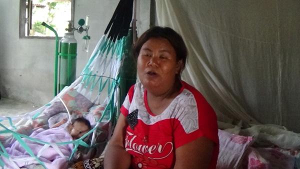 พบหญิงแม่ลูกอ่อนชีวิตสุดรันทดขาเดินไม่สะดวก สามีตาย-ลูกคลอดก่อนกำหนดจนปอดไม่แข็งแรง วอนสังคมช่วยเหลือ(ชมคลิป)