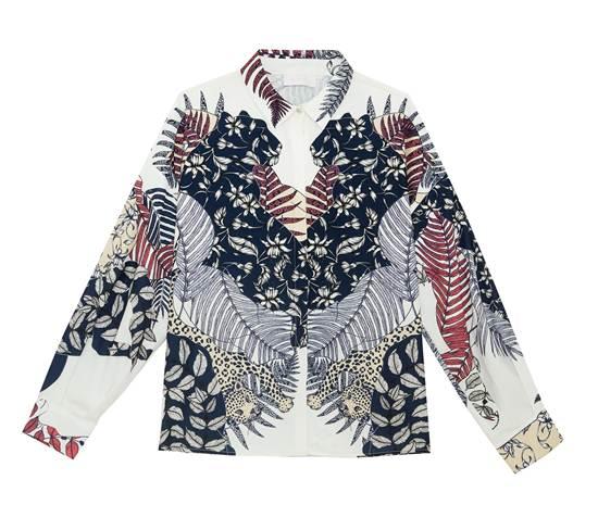 เสื้อเชิ้ตแขนยาวพิมพ์ลาย จาก Disaya ราคา 7,250 บาท