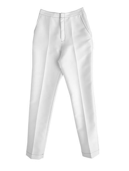 กางเกงเอวสูง สีขาว จาก Irada ราคา 5,790 บาท