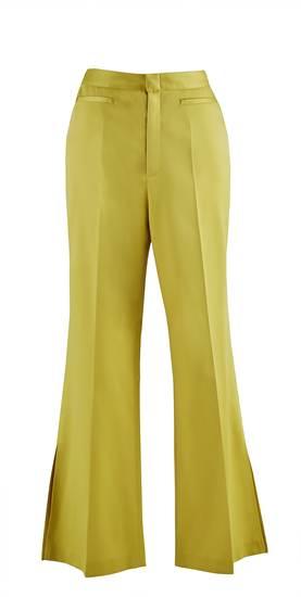 กางเกงขาบานสีเหลืองมัสตาร์ด จาก Irada ราคา 5,790 บาท