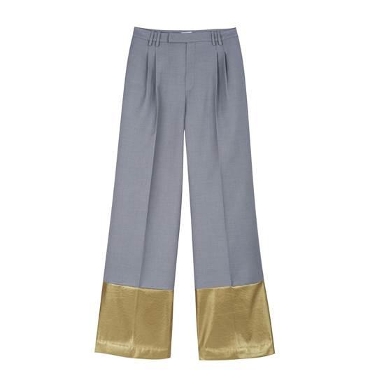 กางเกงขากระบอก สีเทา จาก Vela de ราคา 11,450 บาท