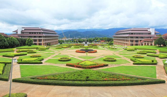 ลานดาว ม.แม่ฟ้าหลวง มหาวิทยาลัยที่ได้ชื่อว่าสวยที่สุดในประเทศไทย
