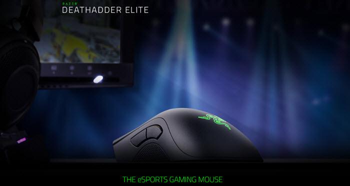 Razer เปิดตัวเกมมิ่งเมาส์รุ่นท็อป DeathAdder Elite