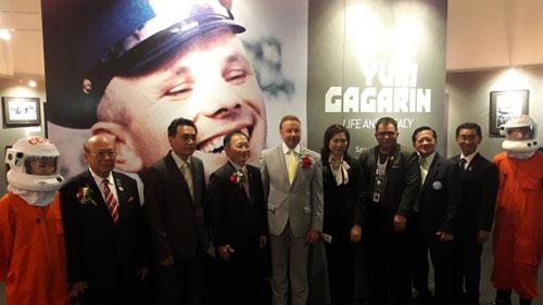 GISTDA ศรีราชา เปิดนิทรรศการประวัตินักบินอวกาศคนแรกของโลก