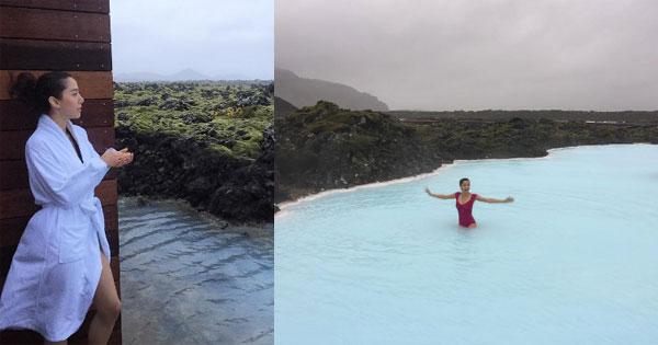"""หูย! แซบไกลเมื่อ """"ไอซ์ อภิษฎา"""" เปลื้องผ้าวัดใจอุณหภูมิติดลบที่ไอซ์แลนด์"""