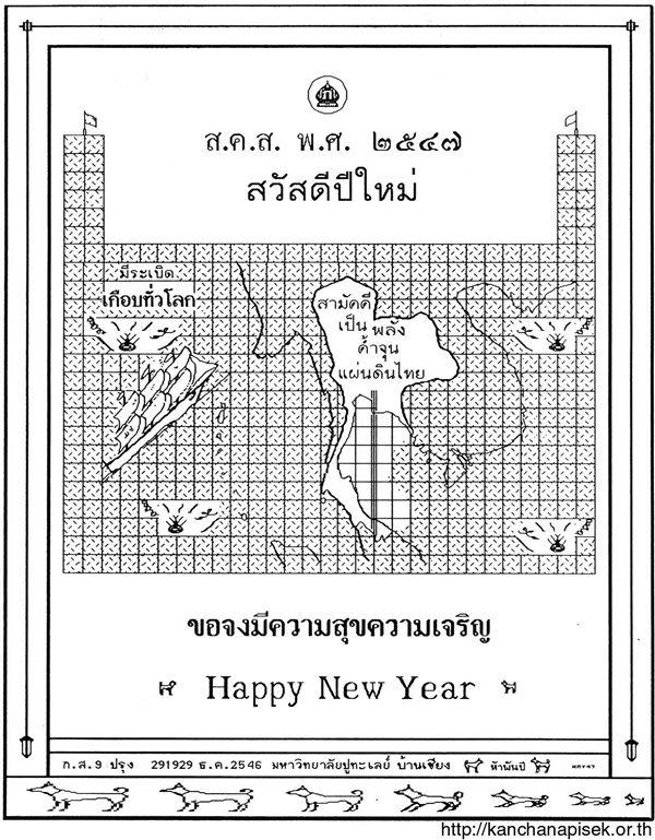 """ถอดรหัส ส.ค.ส.พระราชทานปี 47 เศรษฐกิจพอเพียง """"พ่อหลวง"""" แก้ระเบิด 4 ลูกสังคมไทย"""