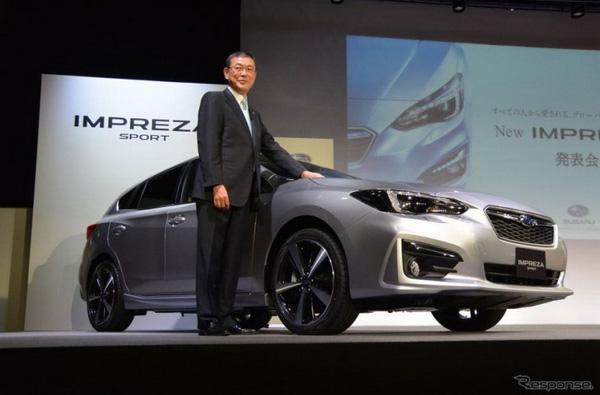 Subaru เปิดตัว Impreza ใหม่ มั่นใจในเทคโนโลยี Eyesight ช่วยเร่งยอดขาย