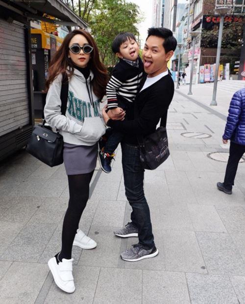"""ส่องภาพครอบครัวตัว ป. """"เป้ย - ป๊อป - โปรด"""" จัดทริปเติมความหวานที่เกาหลีใต้"""