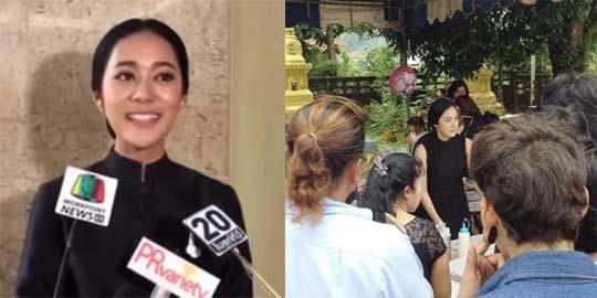 """(ชมคลิป) """"ทับทิม"""" ตื้นตันใจที่สุด คนไทยจิตอาสามากมายทำดีถวาย """"ในหลวง ร.๙"""""""