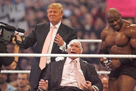 จับ วินซ์ แม็คมาน เจ้าของ WWE โกนหัว