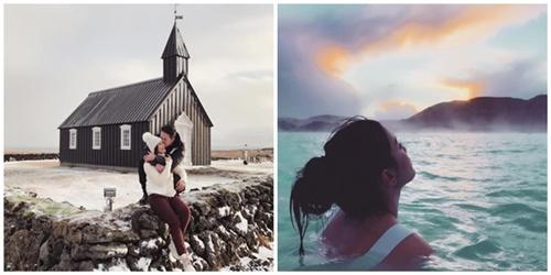 """ชีวิตดี๊ดี! """"เอมมี่"""" ควงสามี """"ไฮโซเจมส์"""" พร้อมก๊วนเพื่อน เที่ยวไอซ์แลนด์"""