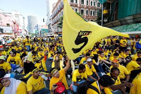 Bersih 5.0 ม็อบเสื้อเหลืองมาเลเซีย เงียบๆ เหงา แต่เริ่มเห็นการเปลี่ยนแปลง