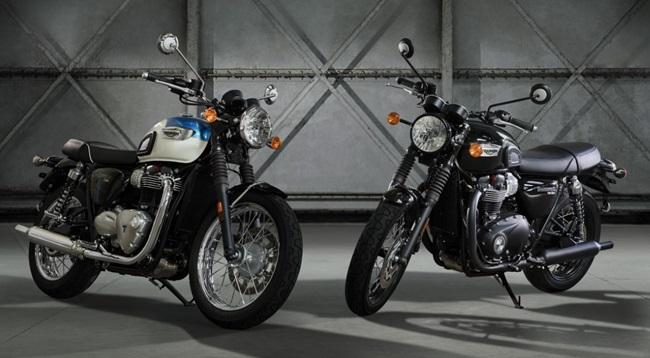บอนเนวิลล์ ที100 (Bonneville T100) และบอนเนวิลล์ ที100 แบล็ค (Bonneville T100 Black)