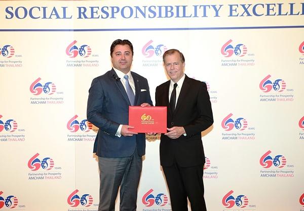 ดิอาจิโอฯ คว้ารางวัลองค์กรที่มีผลงานด้านความรับผิดชอบต่อสังคมดีเด่นประจำปี 2559