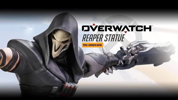 """""""Overwatch"""" เปิดจองหุ่นตัวละคร """"รีเปอร์"""" ในราคา 150 เหรียญ"""