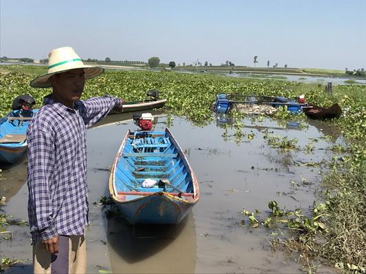 ชาวบ้านหนองกุงศรีจี้ตรวจสอบโรงงานปล่อยน้ำเสียทำปลากระชังตาย 17 ตัน
