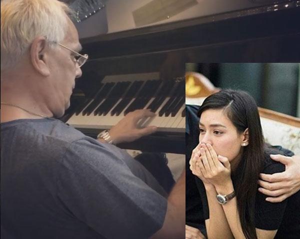 """สุดเศร้า """"คิมเบอร์ลี่"""" โพสต์รูปคุณพ่อเล่นเปียโนด้วยแคปชัน papa my everything..."""