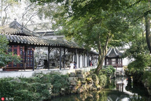 7. ซูโจว - สวนจัวเจิ้งหรือสวนขุนนางผู้ถ่อมตน ซึ่งเป็นสวนที่มีชื่อเสียงมากของนครซูโจว มณฑลเจียงซู