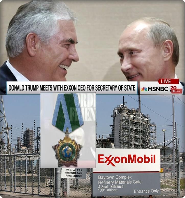 """InClip:""""ทรัมป์"""" เล็งตั้ง """"ซีอีโอเอ็กซอนโมบิล"""" คุมต่างประเทศสหรัฐฯ กระชับสัมพันธ์ค้าพลังงานกับปูติน"""