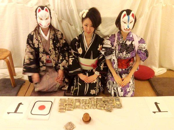 เกมส์ทายลูกเต๋า หรือ Chou Han การพนันแอบแฝงแบบหนึ่งในญี่ปุ่น