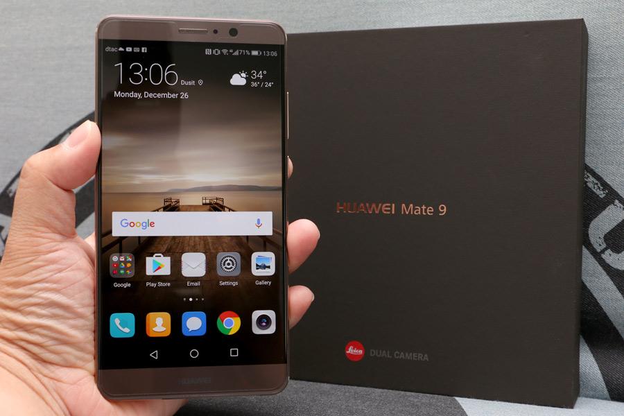 Review : HUAWEI Mate 9 พรีเมียมสมาร์ทโฟน เด่นที่กล้องคู่ไลก้า ราคาโดนใจ