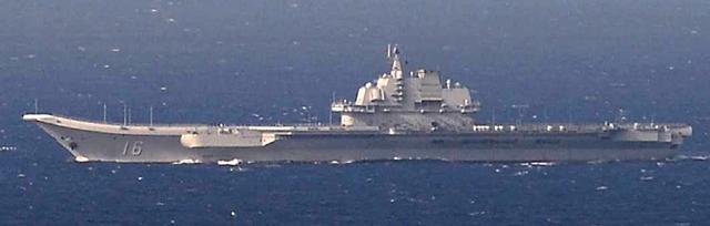 """""""ไทเป"""" เกาะติด เรือบรรทุกเครื่องบิน """"เหลียวหนิง"""" ถึงไหหลำ หลังอวดกล้ามเฉียด """"ไต้หวัน"""" เข้าทะเลจีนใต้ วอชิงตันระบุจีนมีเสรีภาพเดินเรือ"""