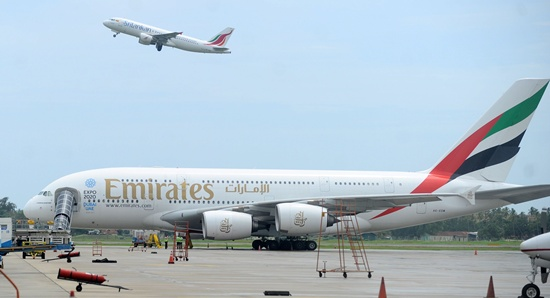 Snake on a plane grounds Emirates flight