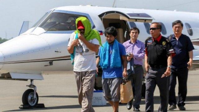 """อาบูไซยาฟปล่อยตัว """"ชาวเกาหลี-ฟิลิปปินส์"""" ที่ถูกจับจากเรือสินค้า 3 เดือนก่อน"""