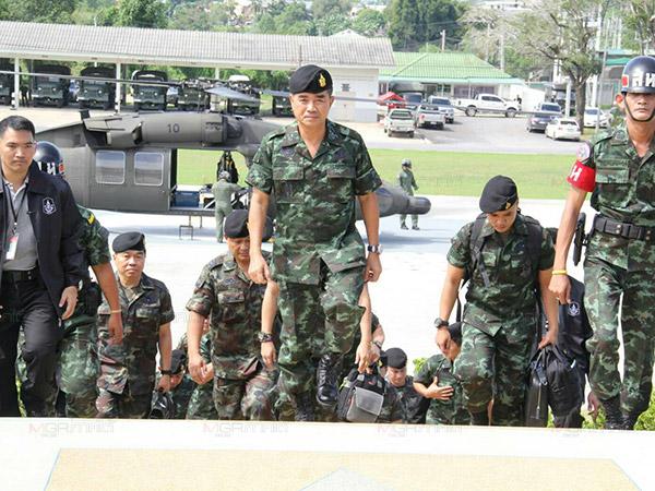 ผบ.ทบ.นำกระทำสัตย์ปฏิญาณตนต่อธงชัยเฉลิมพล วันกองทัพบก-วันกองทัพไทย
